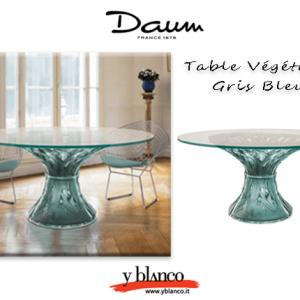 table vegetal blue gris