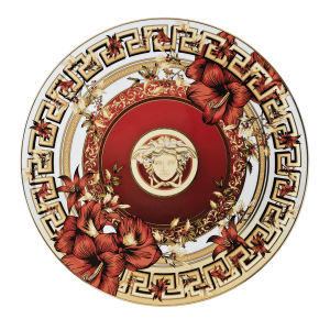 Y Blanco Top Brands - Rosenthal meet Versace, Piatto Christmast Blooms 31 dicembre 2016